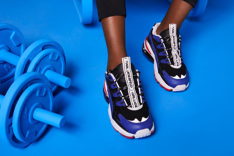 KARL LAGERFELD x PUMA Collection Lookbook Release Sneaker Apparel Luxury Sportswear Logo