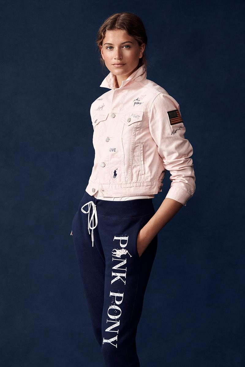 Ralph Lauren Pink Pony Cancer Initiative Collection Sheryl Cole