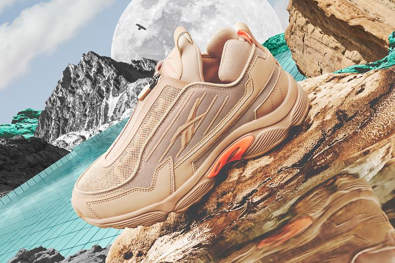 Gigi Hadid Reebok FW19 Sneaker Collaboration Beige Orange
