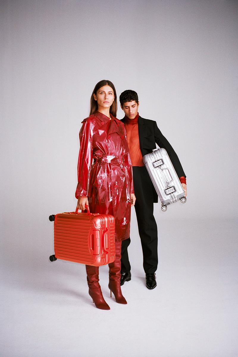 RIMOWA Holiday Gift Guide 2019 Collection Original Cabin Scarlet Aluminum