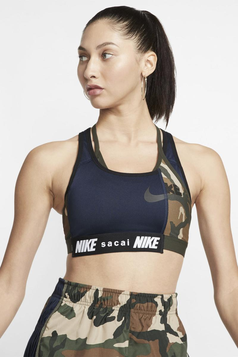 sacai x Nike Apparel Collection Collaboration Release Athleisure Sportswear Garments Jacket Sports Bra Leggings Socks Windbreaker Shorts Chitose Abe