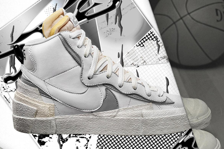 fórmula Viento bufanda  Where to Buy sacai x Nike Blazer Mid Black White   HYPEBAE