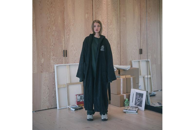 Saintwoods SS008 Collection Lookbook Robe Black