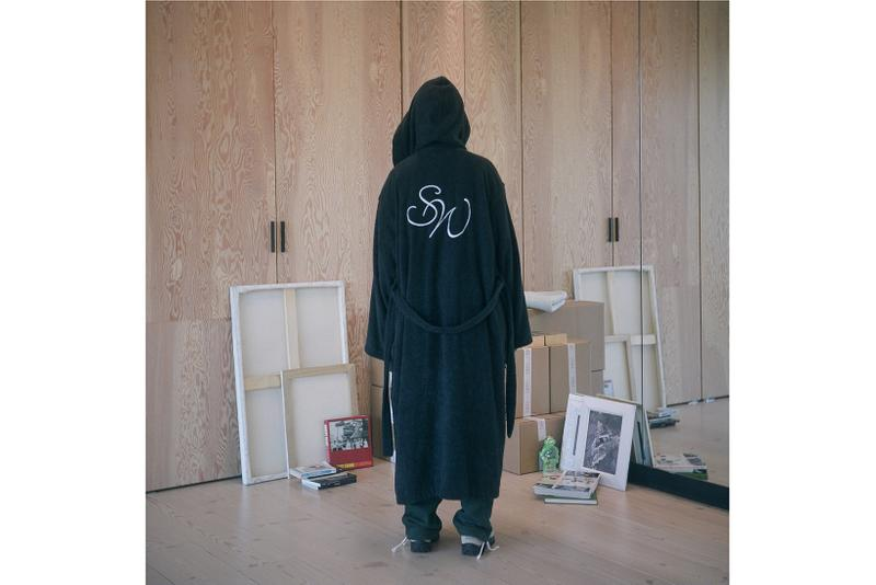 Saintwoods SW008 Collection Lookbook Robe Black