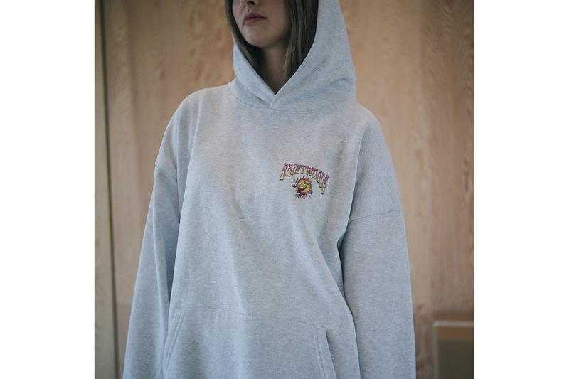 Saintwoods SW008 Collection Lookbook Hoodie Grey