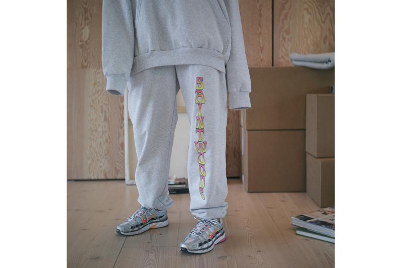 Saintwoods SW008 Collection Lookbook Sweatpants Grey