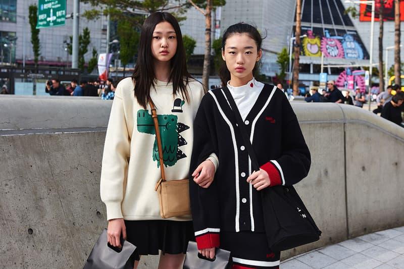 Best Street Styles At Seoul Fashion Week Ss20 Hypebae