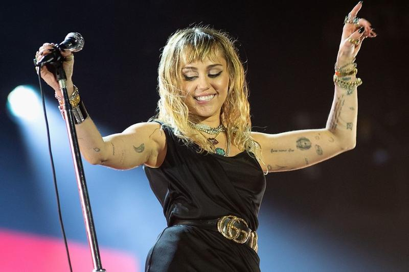 she is miley cyrus new album music singer artist celebrity concert
