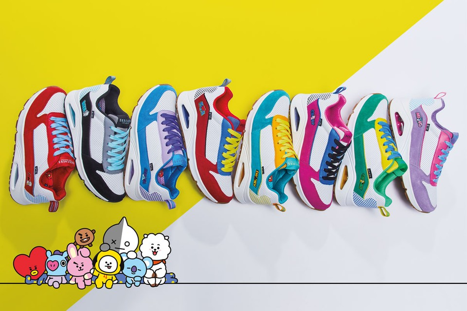 Skechers Drops Limited-Release BT21 Sneaker Collection