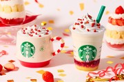 """Starbucks' """"Merry Strawberry Cake"""" Frappuccino Is the Ultimate Sweet Holiday Treat"""