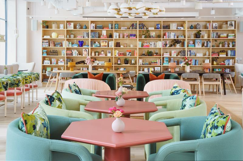 The Wing London Fitzrovia Location Inside Look Interiors Audrey Gelman Womens Working Club Co-working space Cafe Bar events