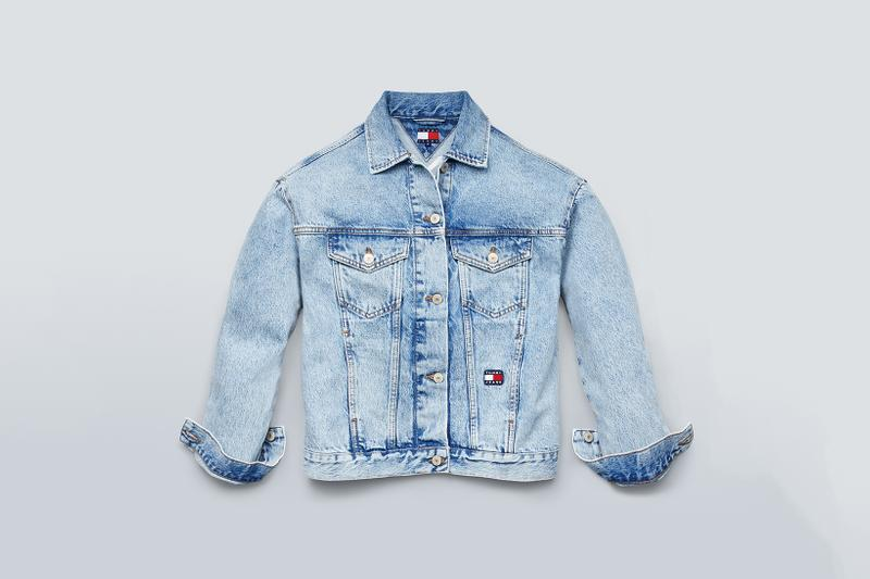 Tommy Jeans Fall 2019 Heritage Collection Denim Jacket Light Blue
