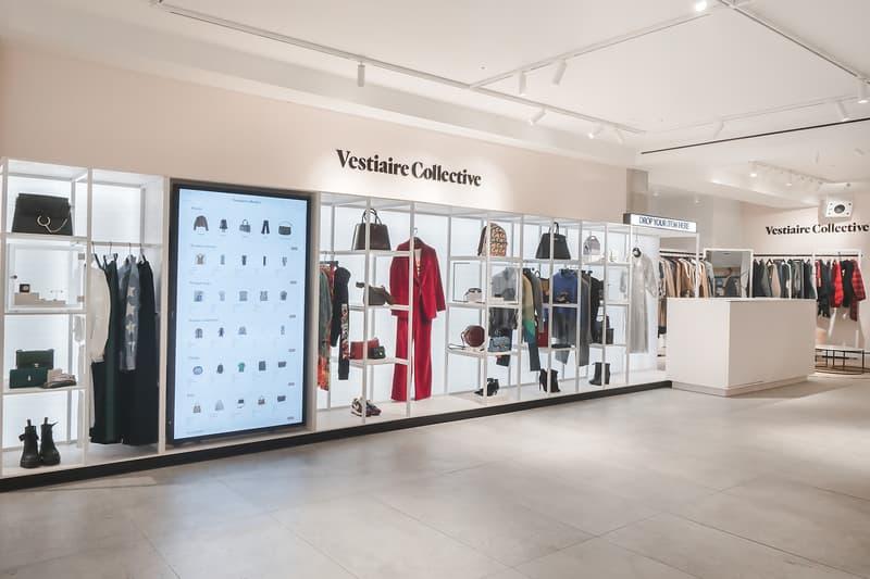 Vestiaire Collective Resale Drop Off Designer Luxury Fashion Selfridges London