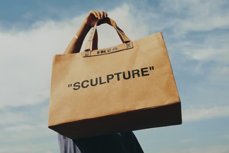 Virgil Abloh IKEA MAKERAD Sculpture Bag