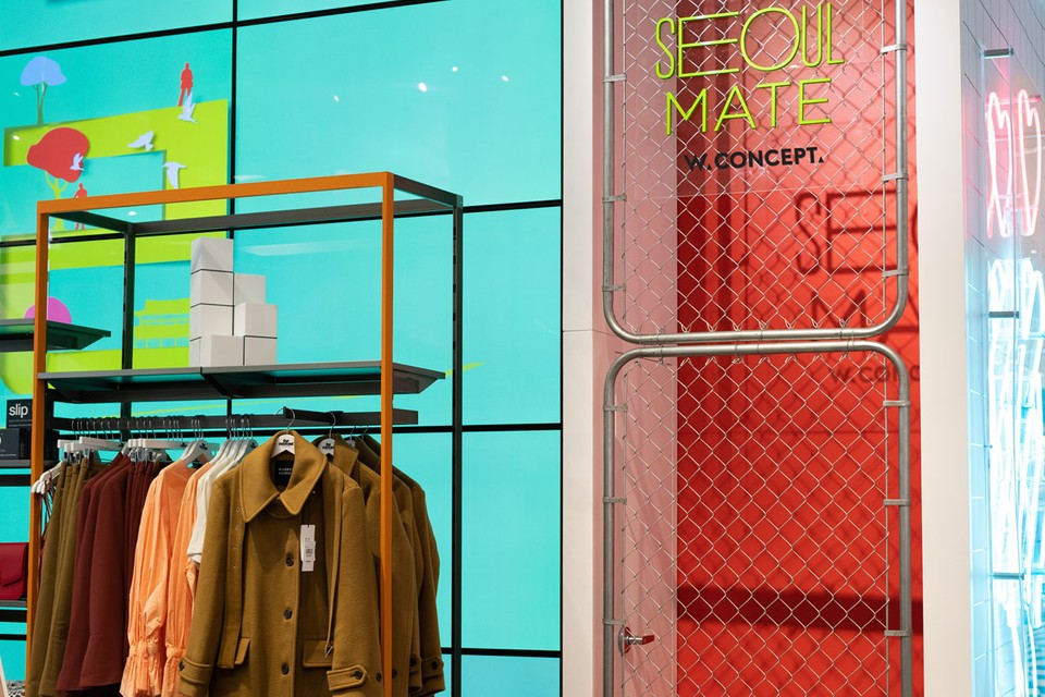 W Concept Captures the Spirit of Seoul for New Pop-Up Shop at Bloomingdale's