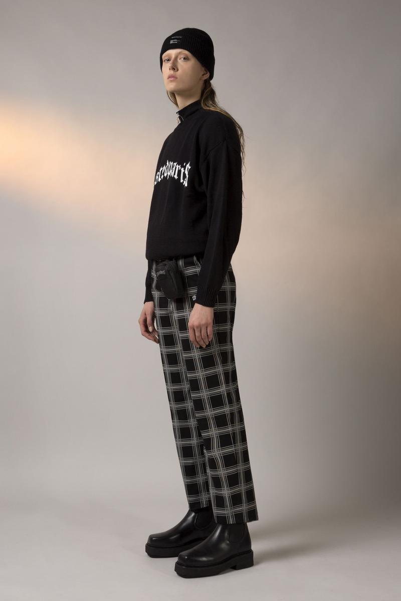 Wasted Paris FW19 Collection Lookbook Bonnet Crew Funnel Essential Noir