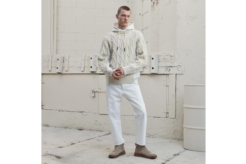 zara srpls chptr 03 second drop minimal white cargo pants knitwear sweaters