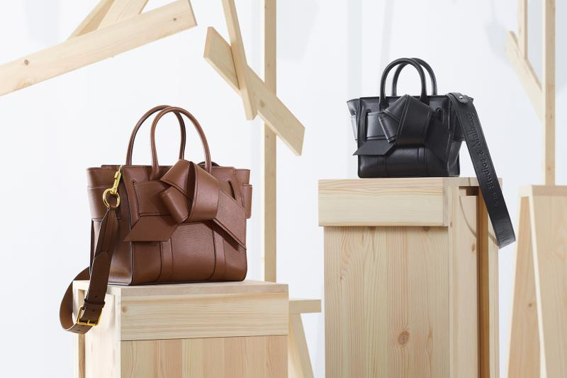 acne studios mulberry collaboration musubi bayswater black brown bags