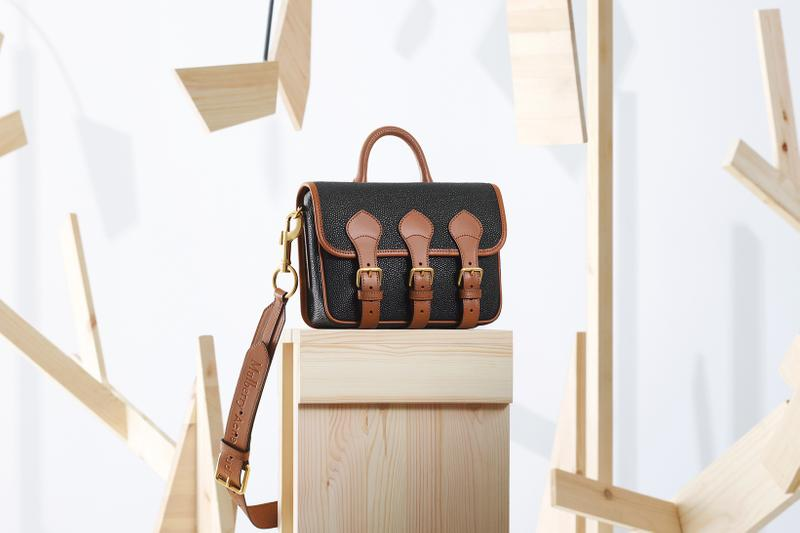 acne studios mulberry collaboration scotchgrain brown black bags
