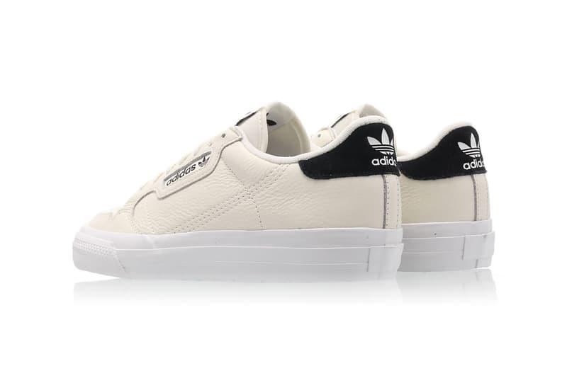 adidas originals continental vulc sneakers off white black shoes footwear sneakerhead