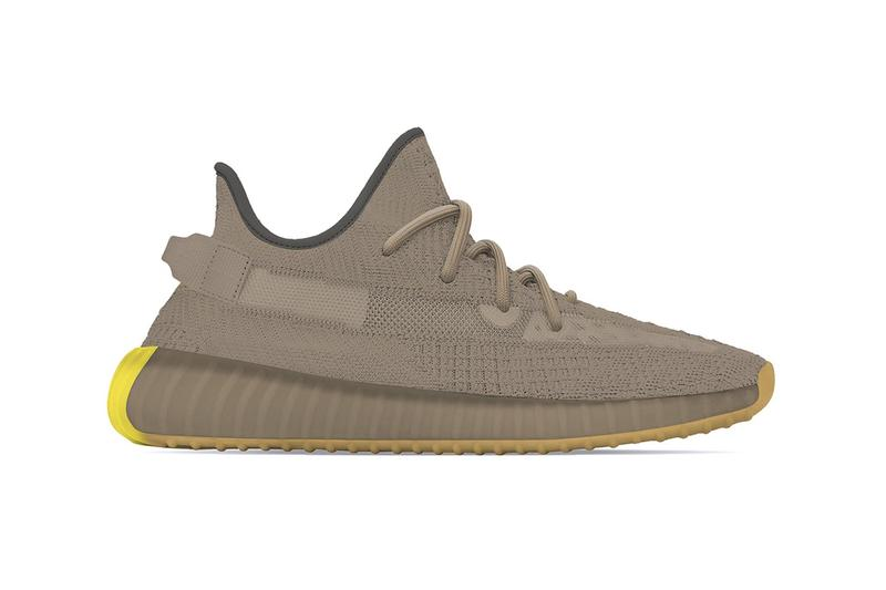 "adidas YEEZY BOOST 350 V2 ""Earth"" Release Date Brown Grey Tonal Kanye West Sneaker Trainer"