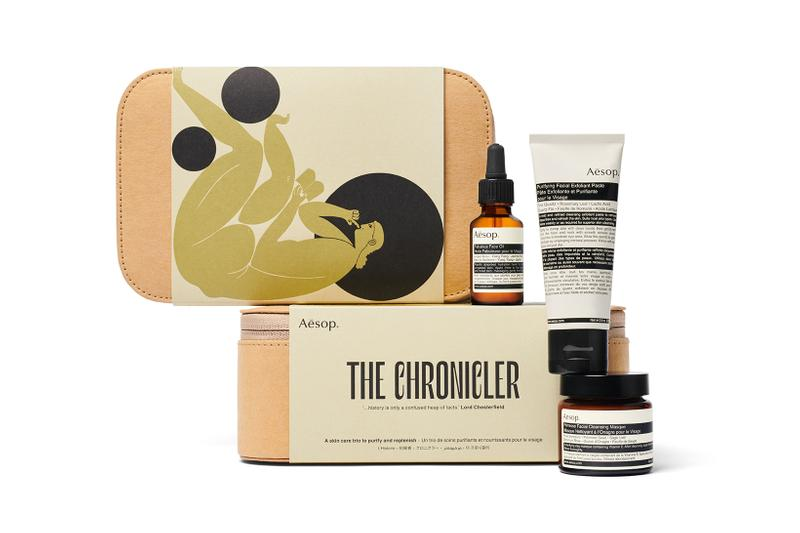 Aesop Of Muse and Myth Gift Kit The Chronicler Face Oil Cleanser Exfoliant