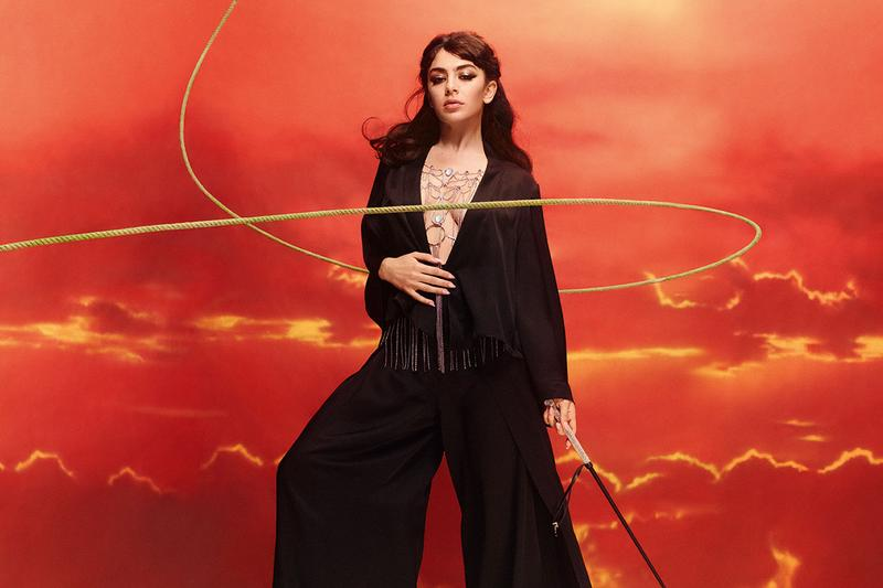 Charli XCX Agent Provocateur Holiday 2019 Campaign Collection Laly
