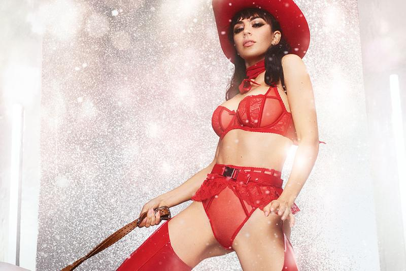 Charli XCX Agent Provocateur Holiday 2019 Campaign Collection Rozlyn