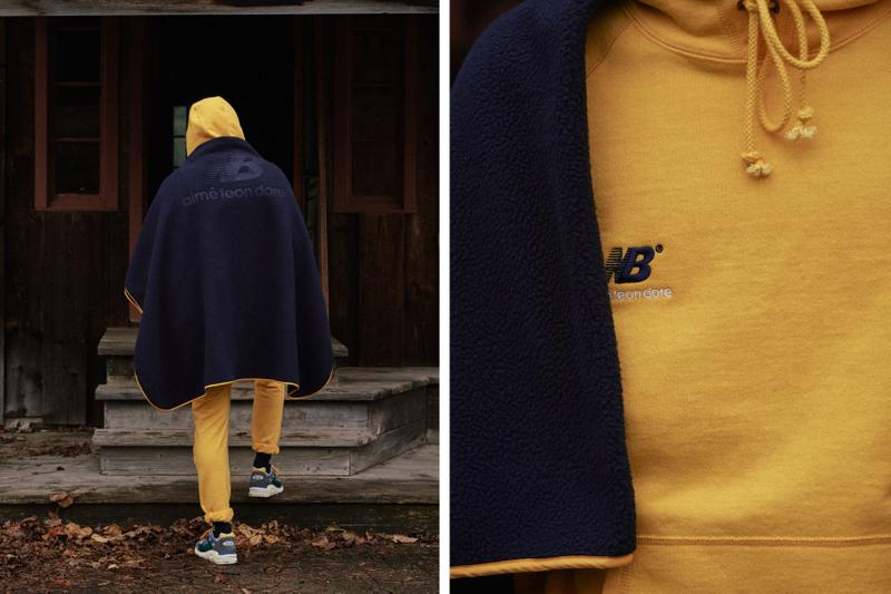 aime leon dore new balance fall winter collaboration campaign sneakers hoodies pants beanie dog
