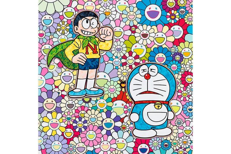 takashi murakami superflat doraemon art exhibition perrotin tokyo