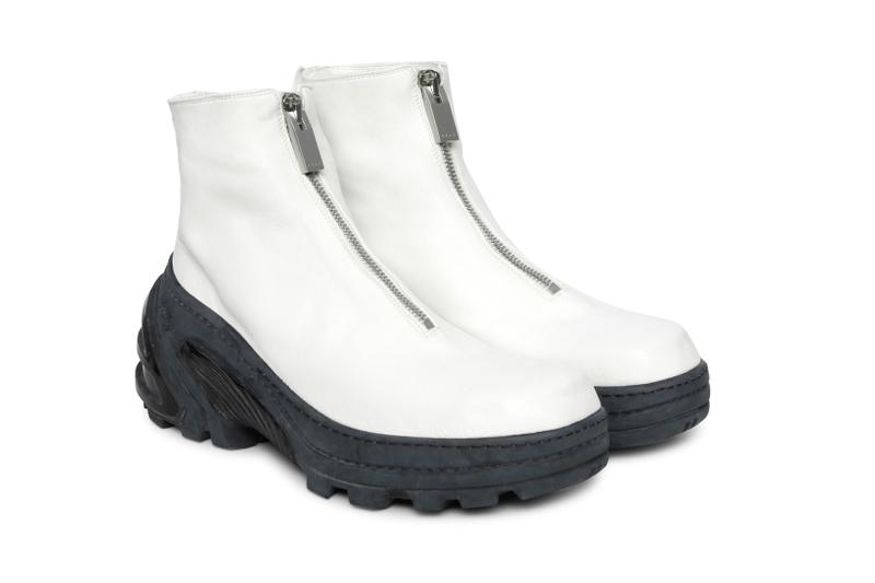 1017 ALYX 9SM x Guidi Boot Front Zip Vibram Sole White