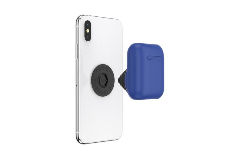 popsockets popgrip apple iphone 11 pro airpods earphones holder wireless charging tech accessory