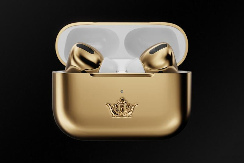 apple airpods pro 3 caviar gold wireless earphones music accessories tech