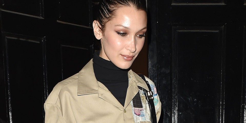 Meet the New Brand Behind Bella Hadid's Reworked Dickies Shirt - HYPEBAE