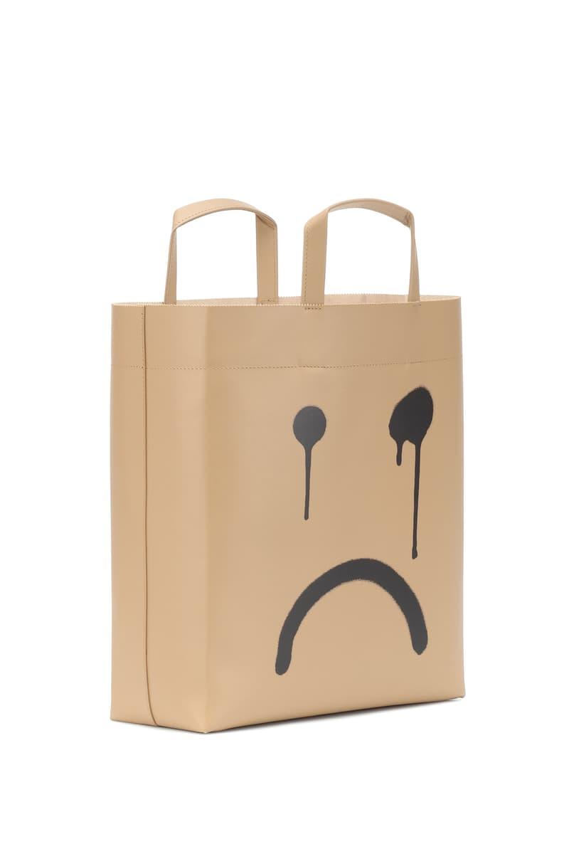Balenciaga Happy Sad Smiley Face Paper Bag Fall/Winter 2019 Collection Design Graffiti Demna Gvasalia Accessory Luxury