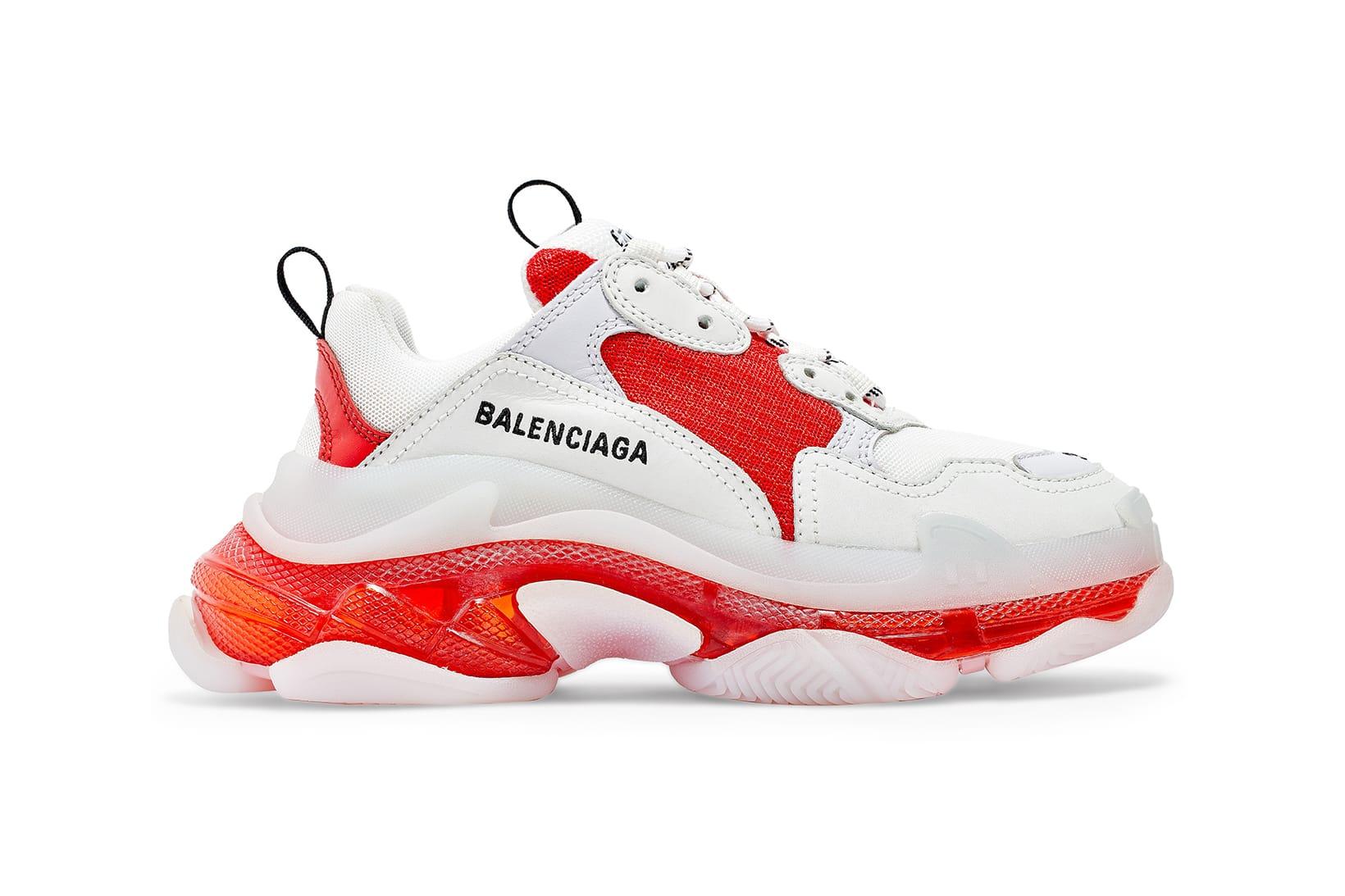 Best UA Gucci Balenciaga Triple S Sneakers Sale at Cheap