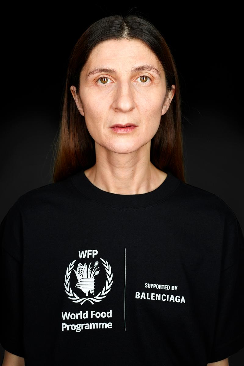 Balenciaga World Food Programme Collection Second
