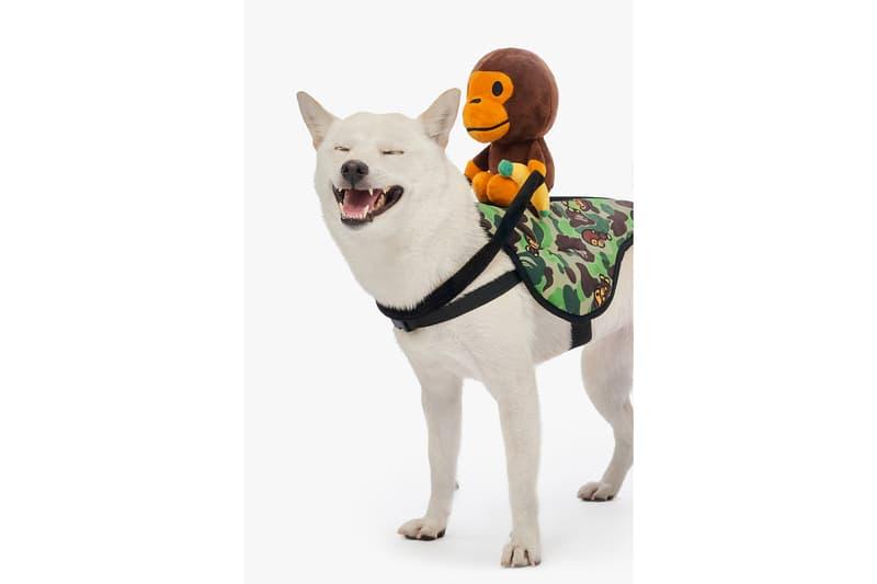 BAPE Baby Milo Dog Fall Winter 2019 Collection Lookbook Costume Camo