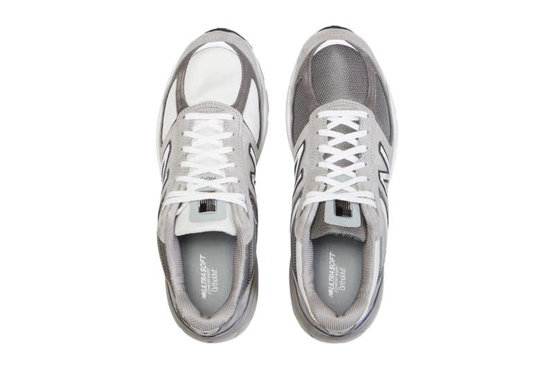 BEAMS x New Balance 990v5 Sneaker Collaboration Trainer Mismatched Shoe Design Release