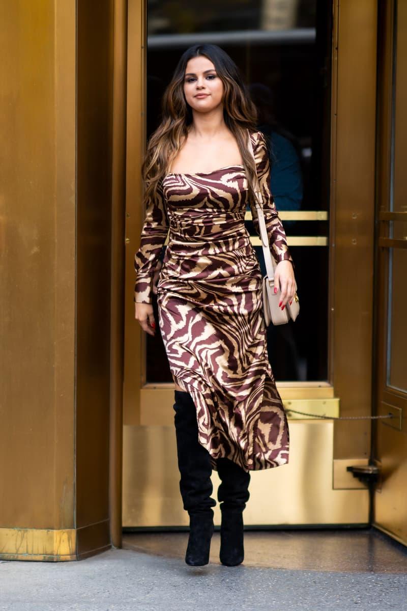 Selena Gomez New York City Tribeca October 2019