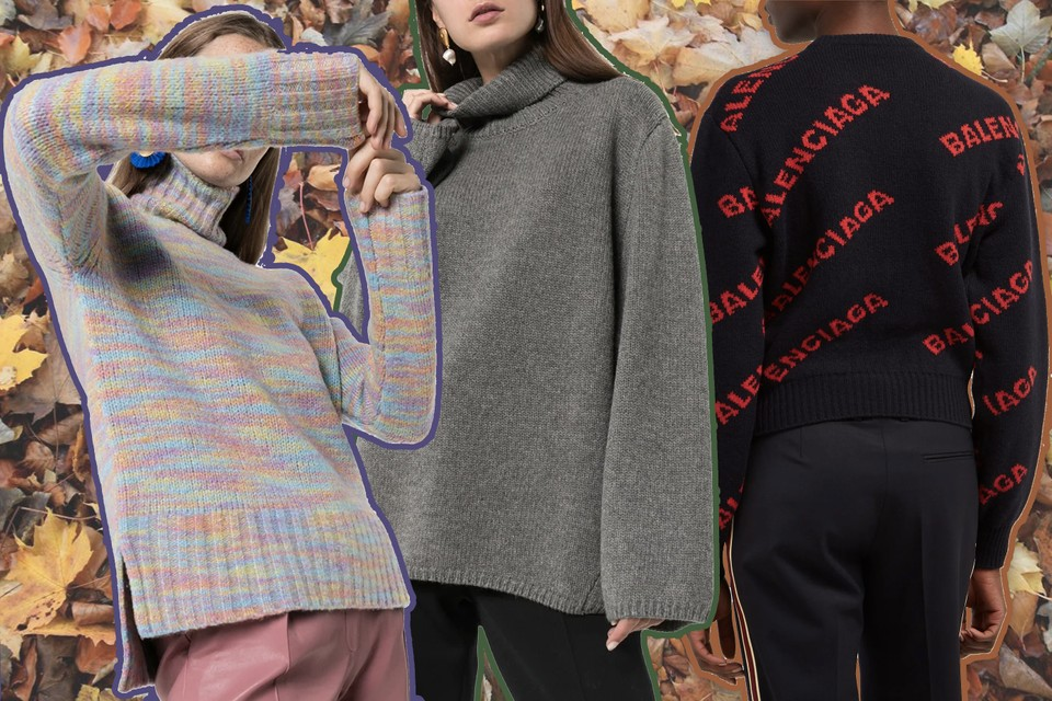 Stay Cozy This Winter in All Our Favorite Luxury Knitted Sweatshirts