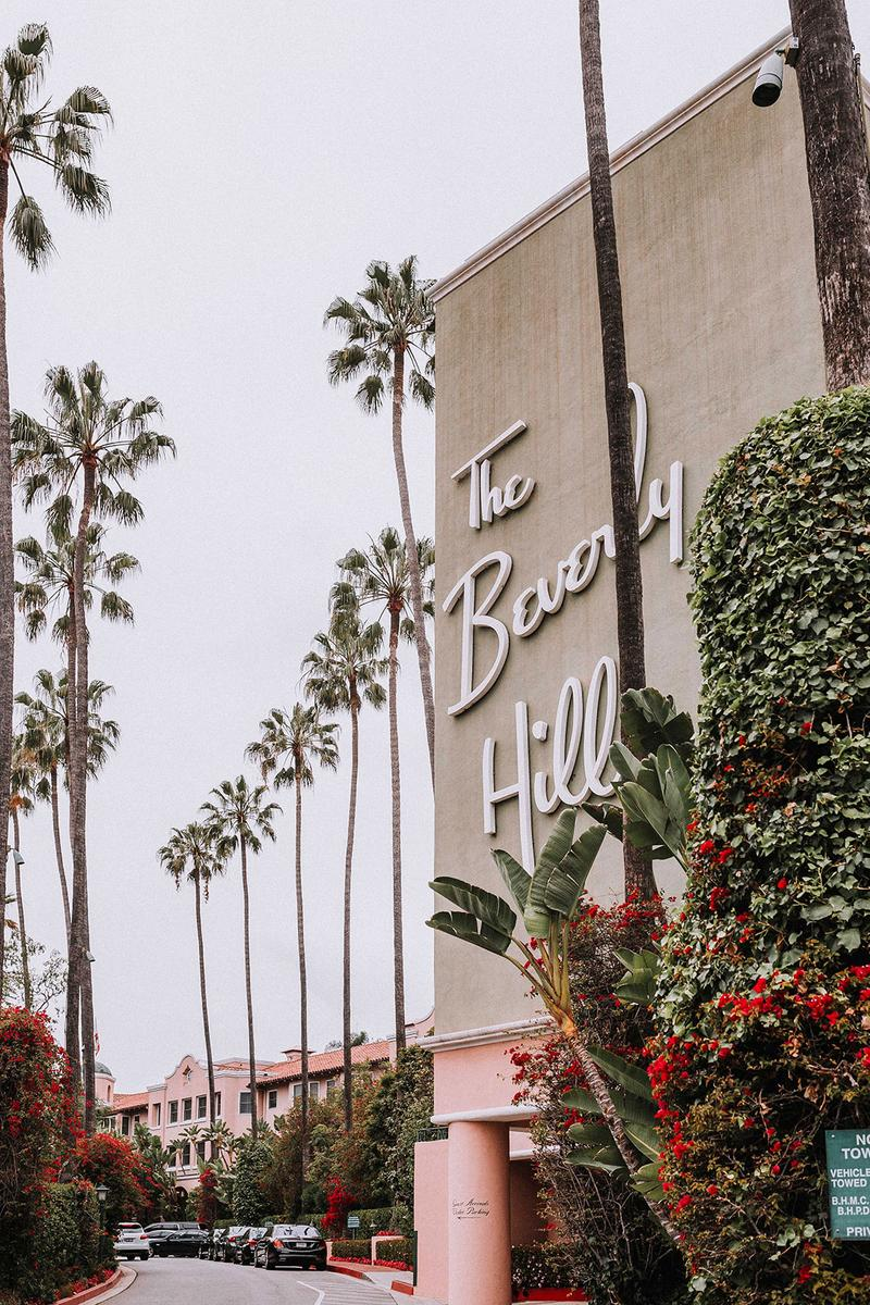 best hotels los angeles la california beverly hills palm trees