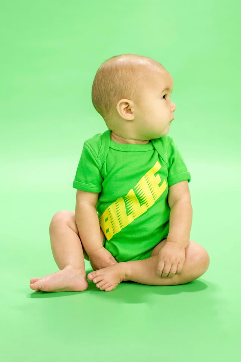 Billie Eilish Kids Collection Blōhsh Onesie Green