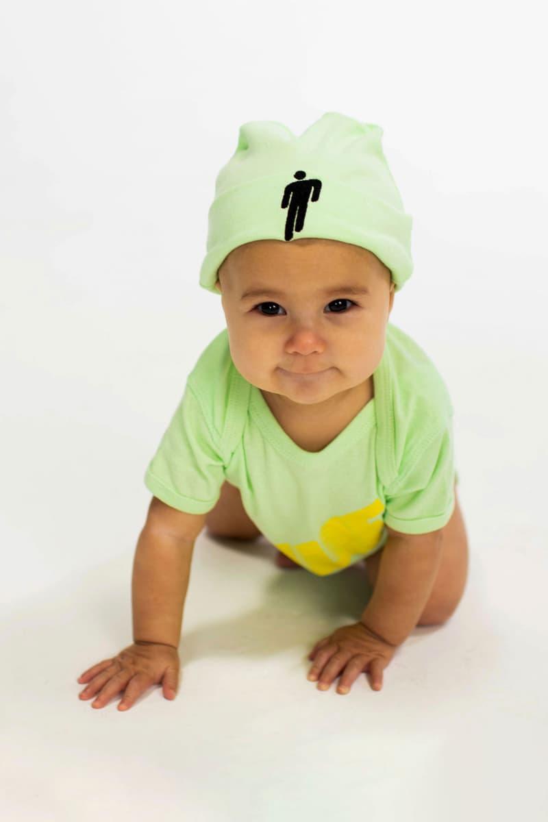 Billie Eilish Kids Collection Blōhsh Beanie Green