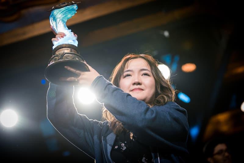 blizzcon finals hearthstone grandmasters li vkliooon xiaomeng first woman winner video games