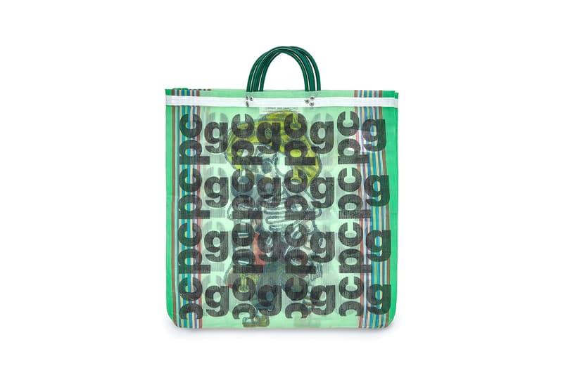 COMME des GARÇONS Monogram Tote Bag Green
