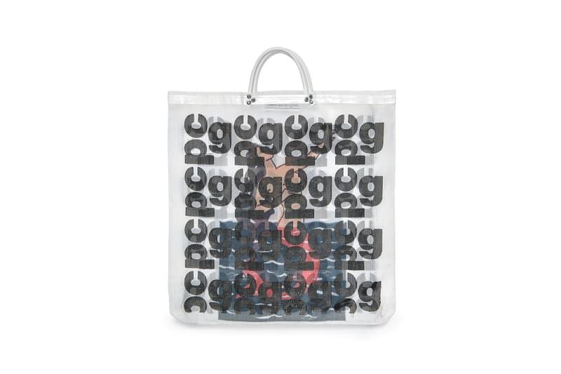 COMME des GARÇONS Monogram Tote Bag White