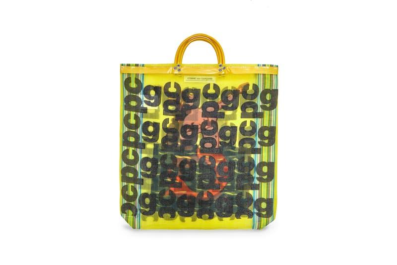 COMME des GARÇONS Monogram Tote Bag Yellow