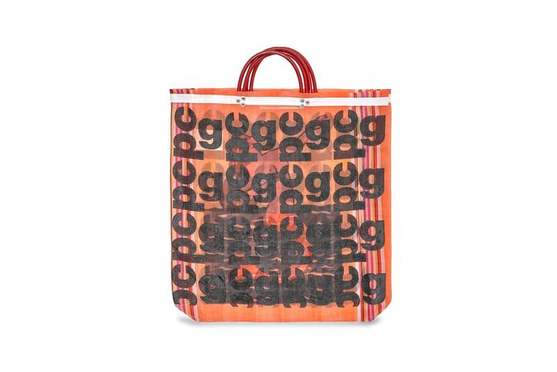 COMME des GARÇONS Monogram Tote Bag Orange