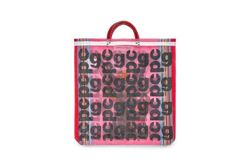 COMME des GARÇONS Monogram Tote Bag Pink